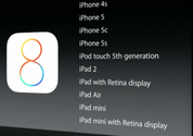 Apple announces iOS 8 device compatibility, drops support for iPhone 4