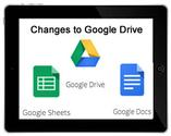 Changes to Google Drive on an iPad