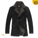 Mens Fur Leather Coats CW819492 - JACKETS.CWMALLS.COM