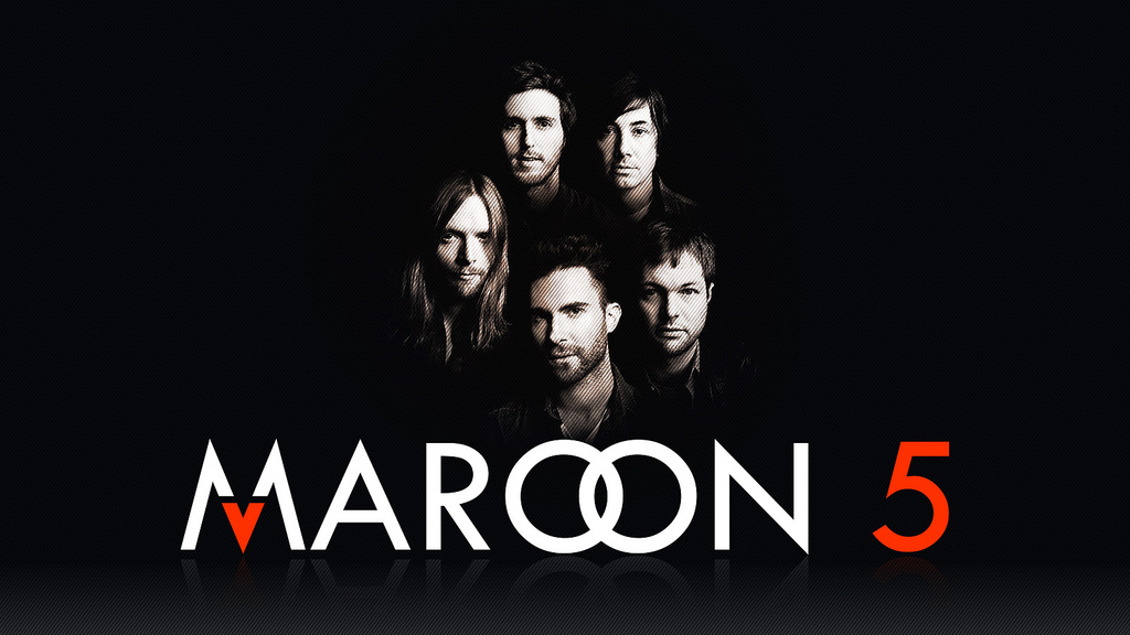 Headline for Top 10 songs of Maroon 5