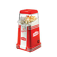Nostalgia Electrics Coca-Cola Series Mini Hot Air Popcorn Popper