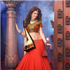 Red wedding bridal lehenga choli
