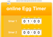 E.gg Timer - simple online countdown timer
