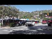 Walk from St. Thomas Cruise Ship Port to Charlotte Amalie Waterfront