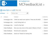 Feedback Form For SharePoint 2013 - STORE