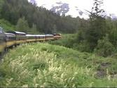 Anchorage to Seward Alaska Railroad Train Ride