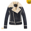 Womens Fur Lined Jackets CW695112 - JACKETS.CWMALLS.COM