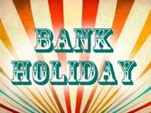 August bank holiday 2014 in UK