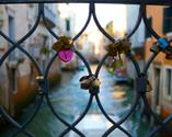 Venice, Italy Love-Locks