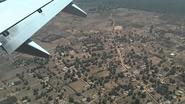 Gambia - landing at Banjul International Airport