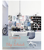 Be A Blogger: Create a Blog Schedule (FREE Printables) -ohksocialmedia