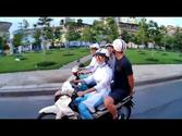 Moped tour in Vietnam!