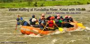 River Rafting at Kolad with Trek Mates India on 27th July '14