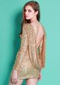 Glam Gold Sequins Dress - Lookbook Store