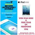 Freedome VPN and iPad Mini Giveaway