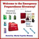 Emergency Preparedness Kit Giveaway - Work Money Fun