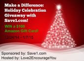 Save1 Amazon Gift Card Giveaway - Work Money Fun