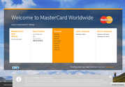 Welcome to MasterCard Worldwide - Country/Region Selector