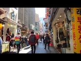 A morning walking tour of Myeongdong in Seoul, South Korea