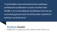 Personal Training Certification | NASM Certified Personal Trainer