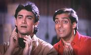 Salman and Aamir to work together in andaz apna apna sequel