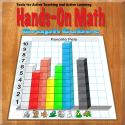 Hands-On Math Graph Cubes By Ventura Educational Systems
