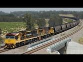 Hunter Valley coal trains - 8 Nov 2013 Part 1: Australian Trains
