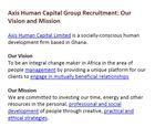 Axis Human Capital Group Recruitment - Community - Google+
