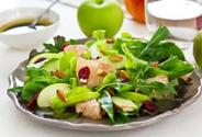 Apples, Almonds, and Greens Toss
