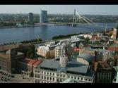 "View of the City of Riga, Latvia from ""Saint Peter's Church Tower"""