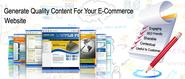 Tips to write Quality contents for your Ecommerce Website
