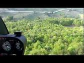 Flying over Turkey with R44 Robinson Helicopter, Near Samsun, Turkey