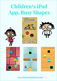 Children's iPad App, Busy Shapes
