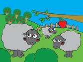 Children's iPad App, Puzzle Farm