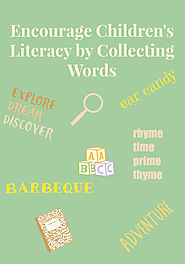 Encourage Children's Literacy by Word Collecting