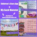 Children's Story App, My Sock Monster
