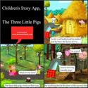 Children's Story App, The Three Little Pigs