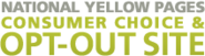 Opt Out of Yellow Pages, White Pages & Phone Books Delivery, National Yellow Pages Opt Out Site