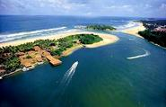 Bentota Beach and Lagoon