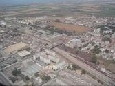 Landing in Algiers Algeria Airport Houari Boumediene, Sky View of Zeralda, All Algiers, Rouiba