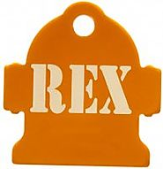 1 Sided Pet ID Tag - Name Only - $12.99 : The Tag Studio