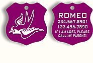 Id Tags Dogs SWALLOW DESIGN - $14.9