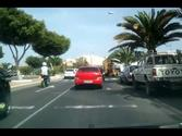 Driving in Arrecife, Lanzarote, Canary Islands.mp4