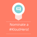 Nominate a #KloutHero on Twitter | The Klout Blog
