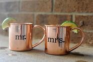 Moscow Mule Copper Mugs Copper Drinking Cups and Sets