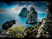 ✔Capri Italy Walk! ~ Beautiful Ocean Trails, Shops, Cafe's, Historic Buildings, People