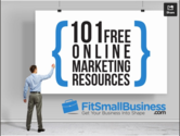 Looking for some marketing resources? Here are 101 for you!