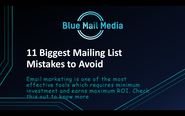 11 Biggest Mailing List Mistakes to Avoid - Blue Mail Media