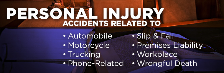 Headline for Personal Injury Law Attorney