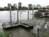 Eagle Street Pier ferry wharf - Wikipedia, the free encyclopedia